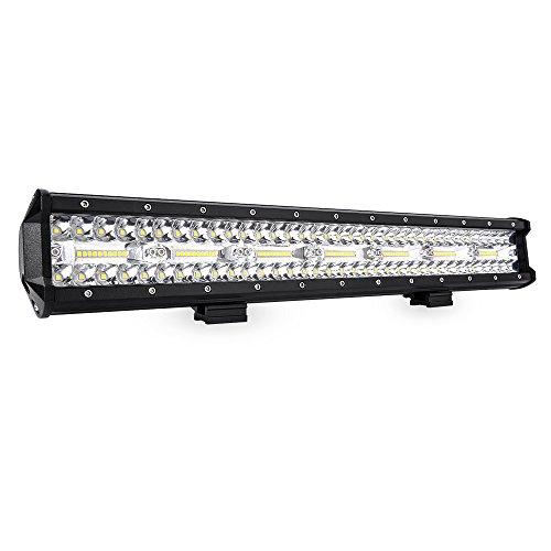 MICTUNING LED Light Bar 20 Inch Triple Row LED Work Light Spot Flood Combo Beam Offroad Driving Fog Lights For Pickup Truck Jeep ATV UTV SUV Boat