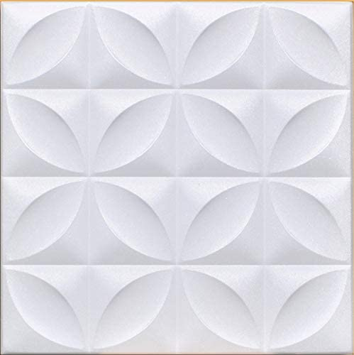 Amazon Com White Styrofoam Decorative Ceiling Tile Closter Package Of 8 Tiles Other Sellers Call This Perceptions And R103 Home Kitchen