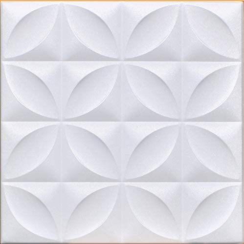 White Styrofoam Ceiling Tile Closter (Package of 8 Tiles) - Other Sellers Call This Perceptions and R103