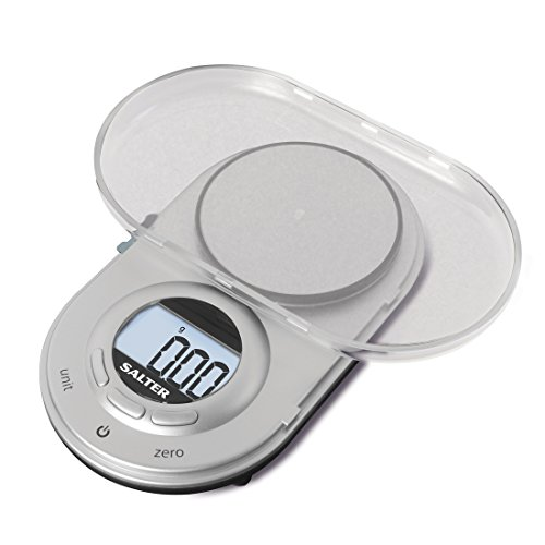 Salter Precision Micro Digital Kitchen Weighing Scales – Compact Discreet...