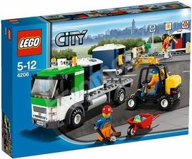 LEGO City Recycling Truck 4206 (Lego Truck Recycling City)