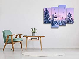 Canvas Picture Top Natural Panorama 1:3 ART PRINT XXL Wall Picture Frame Gift