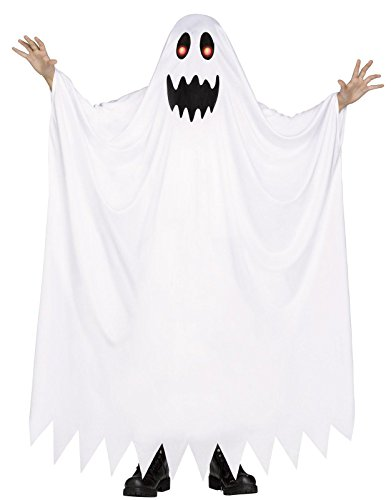 Fun World Kid's Med/Fade in/Out Ghost Childrens Costume, Medium, Multicolor (Best Costumes In The World)