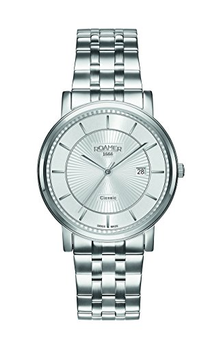 Roamer CLASSIC LINE GENTS 709856 41 17 70 Mens Wristwatch Swiss Made