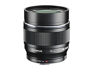 Olympus M.ZUIKO DIGITAL ED 75mm f1.8 (Black) Lens for Olympus and Panasonic Micro 4/3 Cameras - International Version (No Warranty) (B00CPLQ8MG) | Amazon price tracker / tracking, Amazon price history charts, Amazon price watches, Amazon price drop alerts