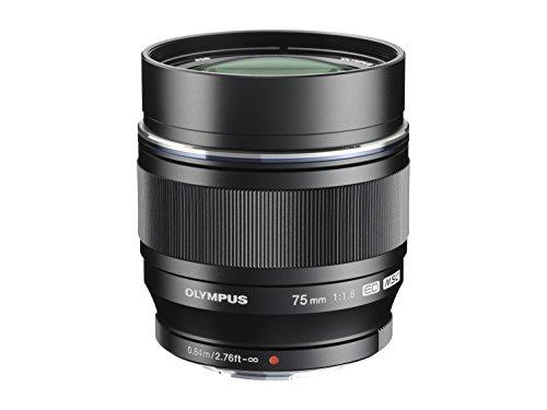 Price comparison product image Olympus M.ZUIKO DIGITAL ED 75mm f1.8 (Black) Lens for Olympus and Panasonic Micro 4 / 3 Cameras - International Version (No Warranty)