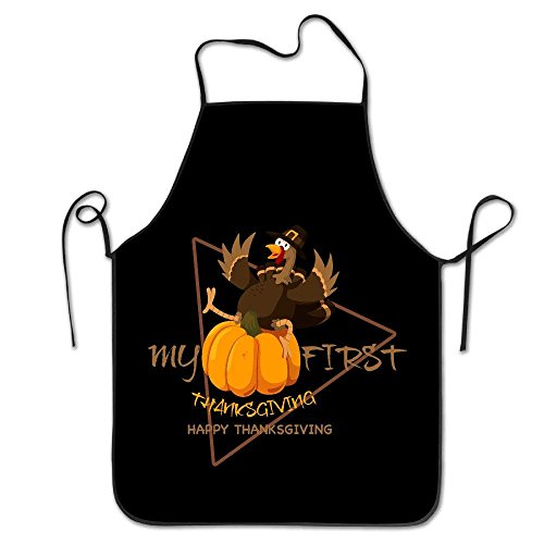 Apron Feast for Apron Turkey Men Personalised Apron Apron Thanksgiving Day Kitchen Women Pinafore Dress First Cooking aAdFOqqn