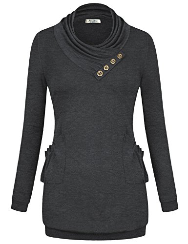 Womens Long Sleeve Knitting Tunic