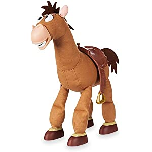 Best Epic Trends 41hqXK6BKWL._SS300_ Disney Bullseye Interactive Action Figure with Sound - Toy Story - 18 Inch
