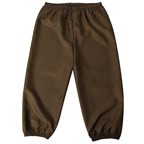 Making Believe Boys/Mens Knickers (Boys Knickers Size Small 6/8, Olive Green/Khaki Brown) -