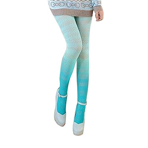Generic Womens New Fishnet Tights Lace Pantyhose Gradients Colored Sexy Hosiery Colorful Mesh Tights (Colored Fishnet Tights)
