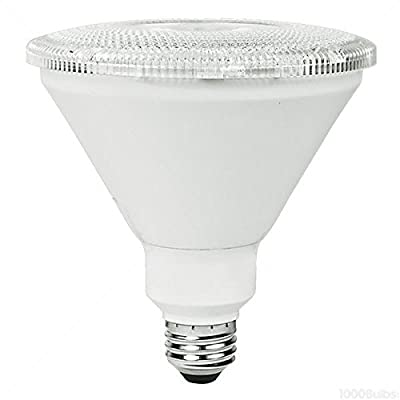 TCP 120W Equal 2700K PAR38 LED Light Bulb - 17 W 40 Deg. Flood - LED17P38D27KFL
