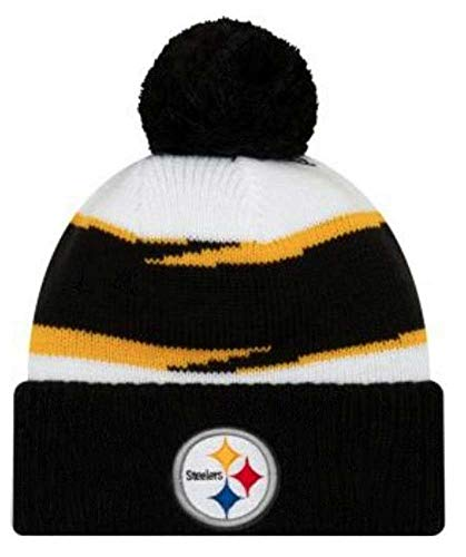 New Era 2018 Mens NFL Thanksgiving Day Knit Hat (Pittsburgh Steelers)