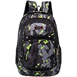 TOTOD Fashion Backpack Teenage Girls Boys School Backpack Camouflage Printing Students Bags