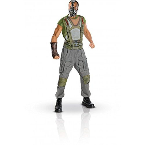 Bane Deluxe Adult Costume Size Large (Deluxe Bane Adult Costumes)
