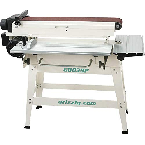 Grizzly Industrial G0839P – 6 x 79 Edge Sander – Polar Bear Series