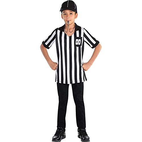 Child Referee Costume (Suit Yourself Referee Halloween Costume Accessory Kit for Children, One)