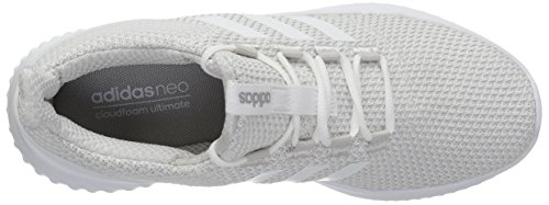 Ultimate Mujer Adidas Adidascloudfoam white One Cloudfoam Two Grey grey Para rqqIxw5H6