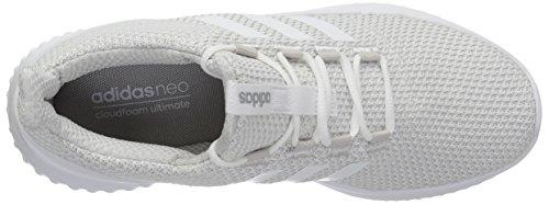 adidas Frauen Cloudfoam Ultimate Laufschuh Grau Eins / Weiß / Grau Zwei