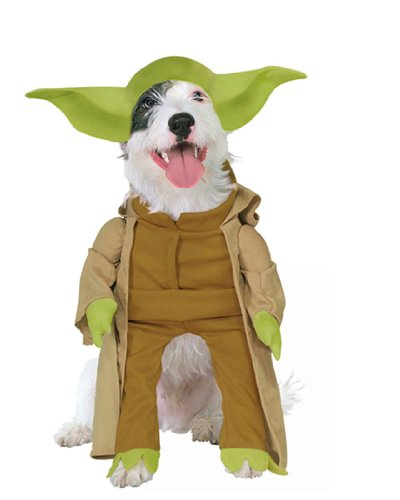 Yoda Dog Pet Costume - -