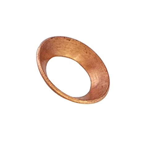 1//4 Tube Size Pack of 10 Pack of 10 45 Degree Copper Flare Fitting Parker Hannifin Corporation Parker Hannifin 2GF-4-pk10 Flare Gasket 1//4 Tube Size