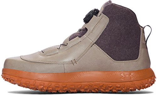 Under Armour Men's UA Fat Tire Leather Hiking Boots Dune/ Burnt Orange/ Charcoal soLX9Z