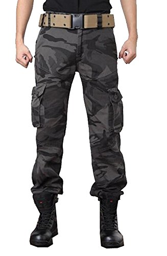 Wilton Marti Fashion Mens Military Army Cargo Camo Combat Work Pants (Wearables Cargo Jacket)