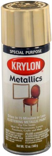 Price comparison product image Krylon 1708 Metallic Paints,  Brass