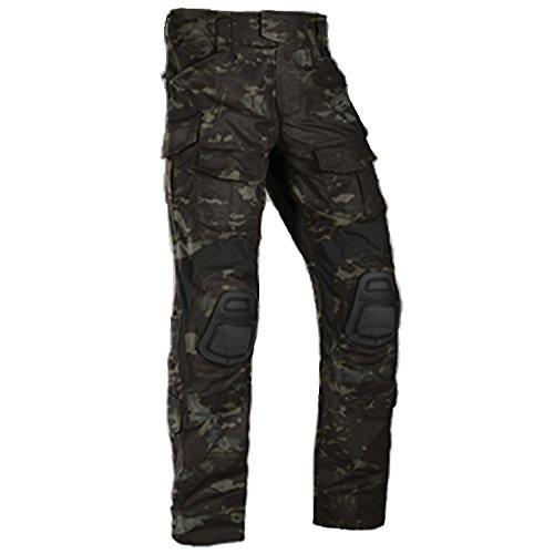 CRYE PRECISION Combat Pants G3, Multicam Black, 32 Regular
