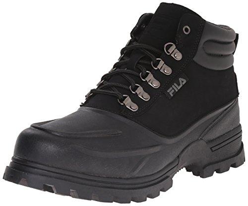Fila Men's Weathertec Hiking Boot, Black/Black/Black, 11 M US (Fila Weather Tech)