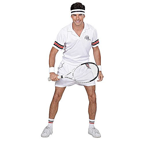 Large Mens Tennis Player Costume (Tennis Player Costumes)
