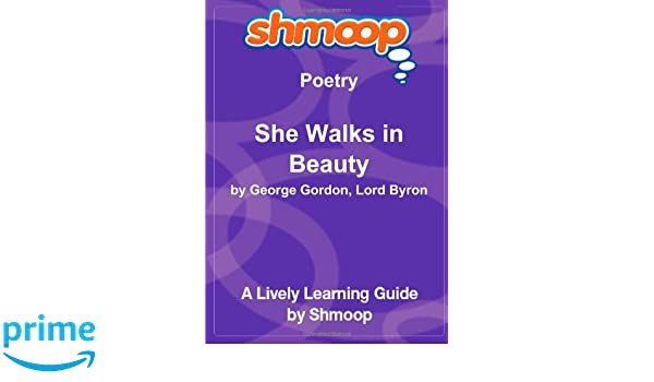 she walks in beauty sparknotes