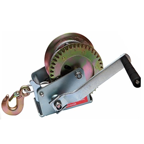 X-BULL 1200LBS Hand Winch Steel Cable ()