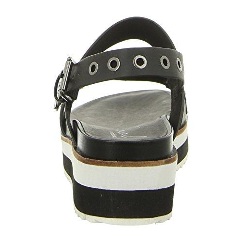 Coolway 10082050 Blk - Sandalias de vestir de Material Sintético para mujer Blk