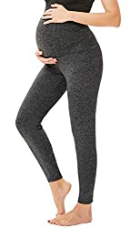 "Hello! Welcome to our store ""Grace Karin USA""! * Shop this collection of Maacie Essential maternity capri yoga leggings for moms-to-be! ✈ FABRIC: They're made of a super-soft 100%Polyester with just the right amount of stretch, so you'll stay comfort..."
