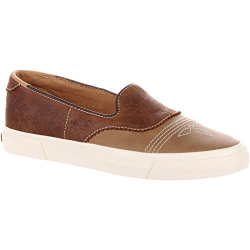 (Durango Music City Women's Slip-On Saddle Sneaker)