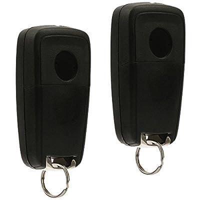 Car Key Fob Keyless Entry Remote Flip fits 2010-2020 Buick Allure Encore Lacrosse Regal Verano/Chevy Camaro Cruze Equinox Impala Malibu Sonic/GMC Terrain (OHT01060512), Set of 2: Automotive