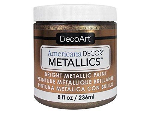 - DecoArt Ameri Deco MTLC Ant Bronze Americana Decor Metallics 8oz AntBronze