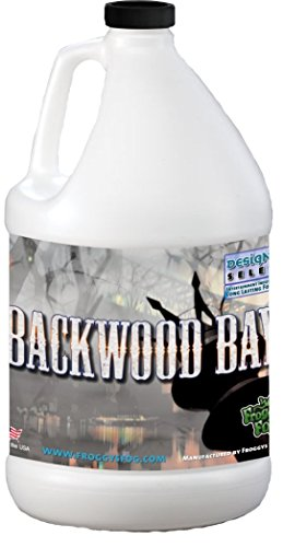 Backwood Bay (Extreme Hang Time Longest Lasting Fog Fluid) - 1 Gallon Fog Juice (Smoke Juice)