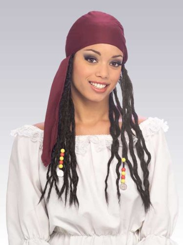 Rubie's Costume Pirate Headband with Dreads
