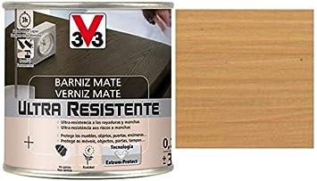 V33 - Barniz ultra resistente mate roble claro 0,25l