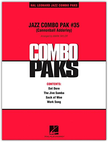 Hal Leonard Jazz Combo Pak #35 (Cannonball Adderley) Level - Pak Cannon