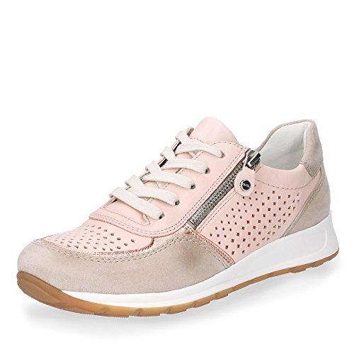 Ara Beige Osaka femme 34556 12 Rosa Sneaker ZOq4UO8nwr