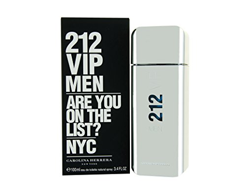 212 Vip от Carolina Herrera Eau De Toilette Spray для мужчин, 3,4 унция