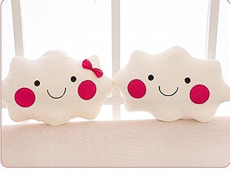 Amazon.com: Cámara de comestibles Cute cara sonriente Cojín ...