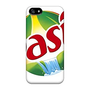 Bumper Hard Phone Cases For Iphone 5/5s With Custom Colorful Oasis Band Pattern CharlesPoirier