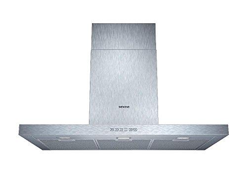 Siemens LC97BC532 iQ300 Wandhaube / 90 cm / Wahlweise Abluft- oder Umluftbetrieb / Metall-Fettfilter, spülmaschinengeeignet / edelstahl