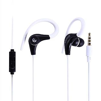 HShyxlkj Auriculares con Cable con Auriculares Deportivos estéreo ...