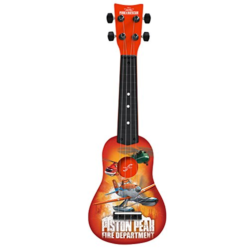 First Act PL285 Disney Planes Mini Guitar Ukulele, Color May Vary