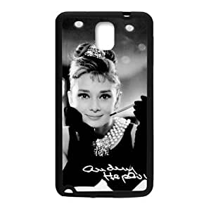 Happy Audrey Hepburn Cell Phone Case for Samsung Galaxy Note3